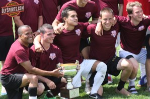 Capital won their second straight FoM Alumni Soccer Cup in 2014.