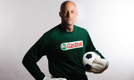 Kasey Keller at work