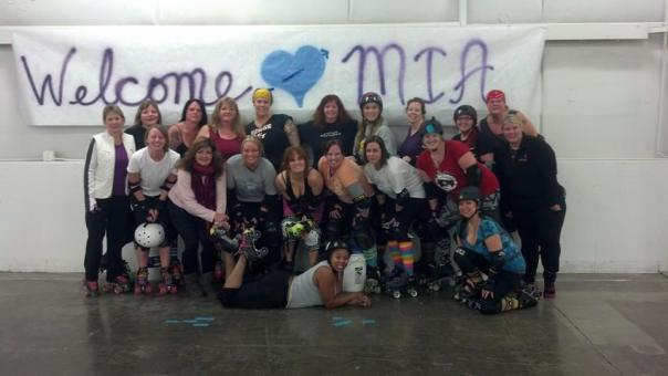 Photo from the MIA Derby Girls Facebook page