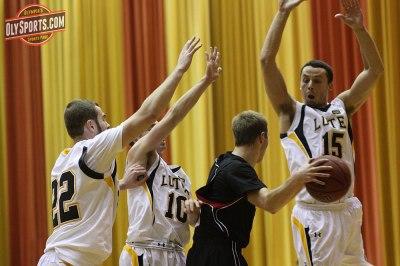 Tyler Copp triple teamed