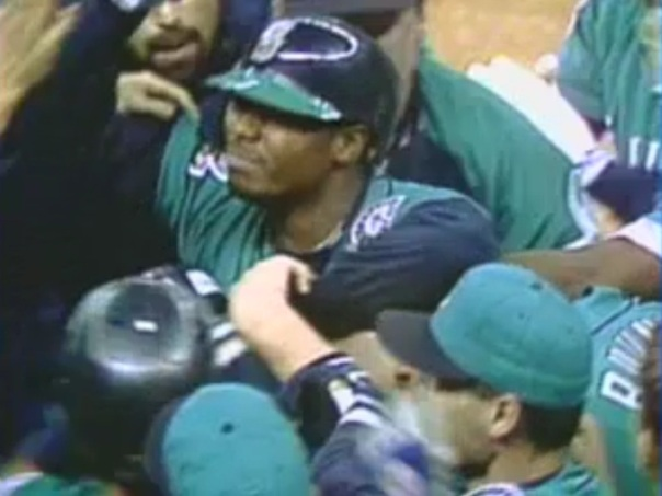 Watch: Griffey's first walk-off homer